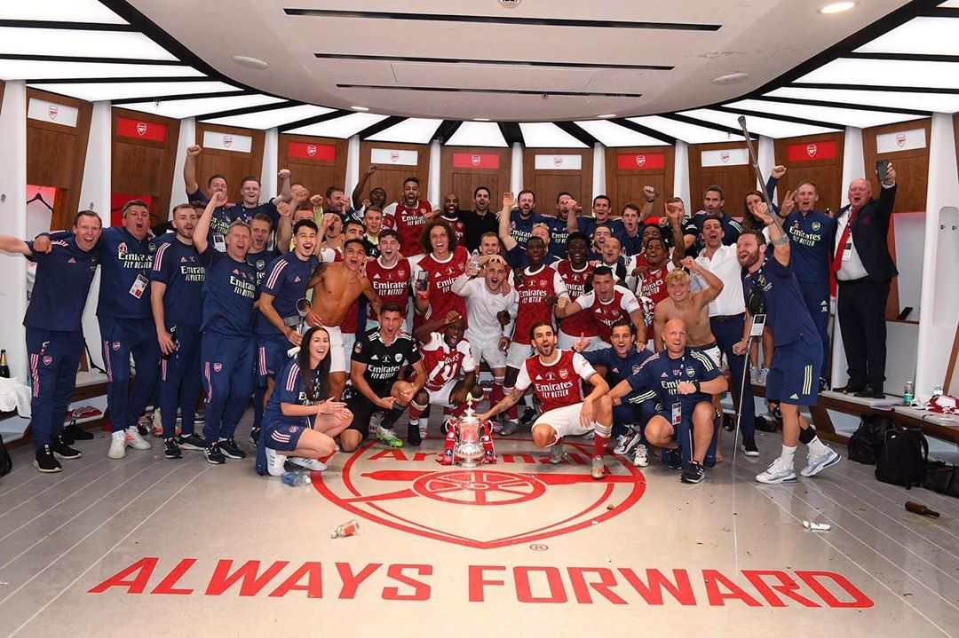 Arsenal wins the fourth FA Cup in the last seven years!