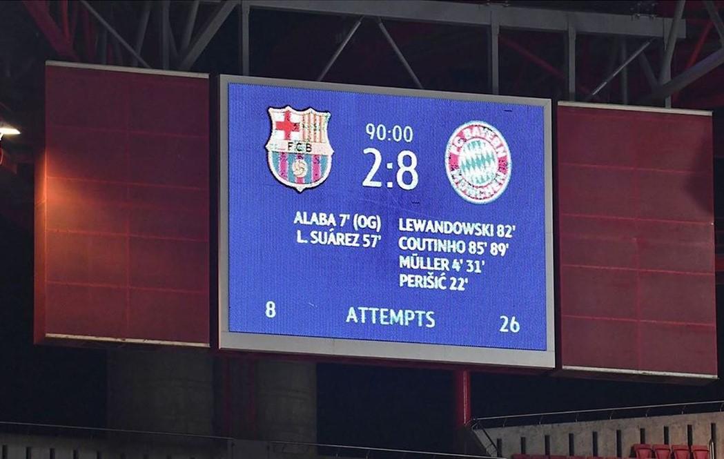 Mas Que 7:1? Historic domination as Bayern demolishes Barca 8:2