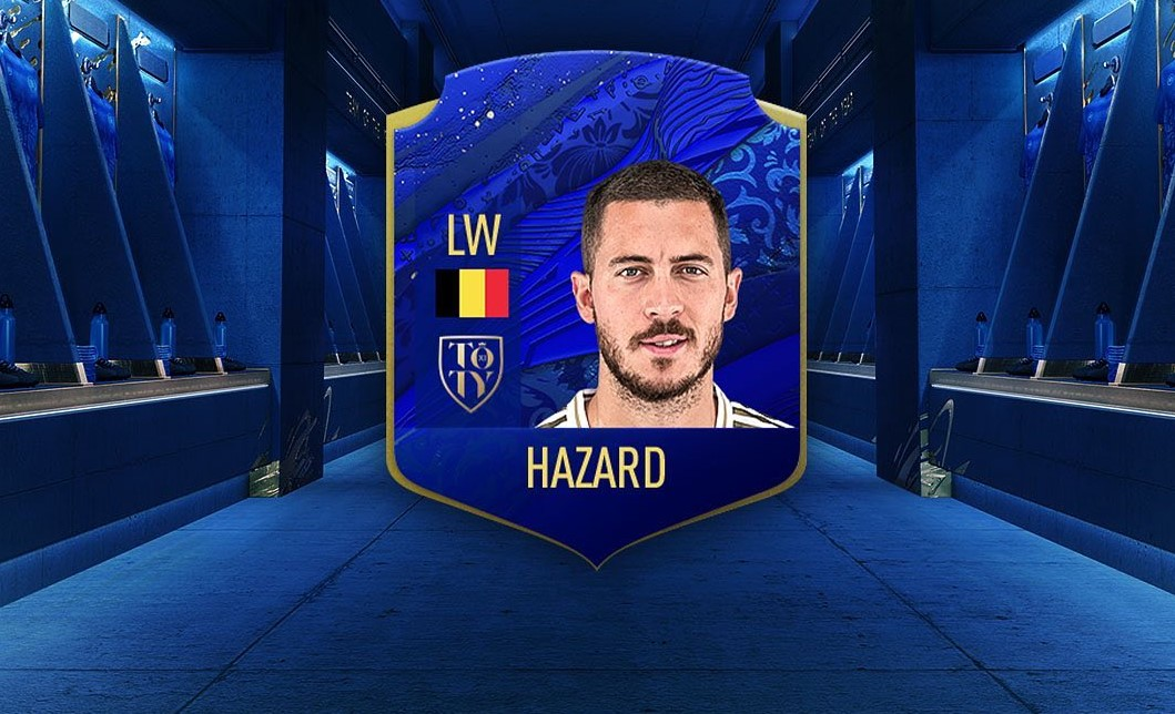 Hazard fractures his right ankle!