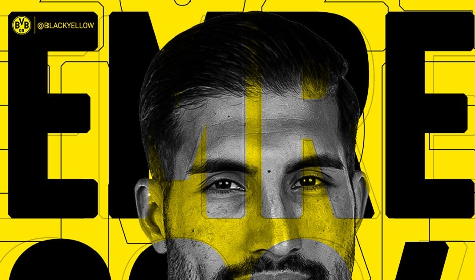 Emre Can signs permanently with Borussia Dortmund