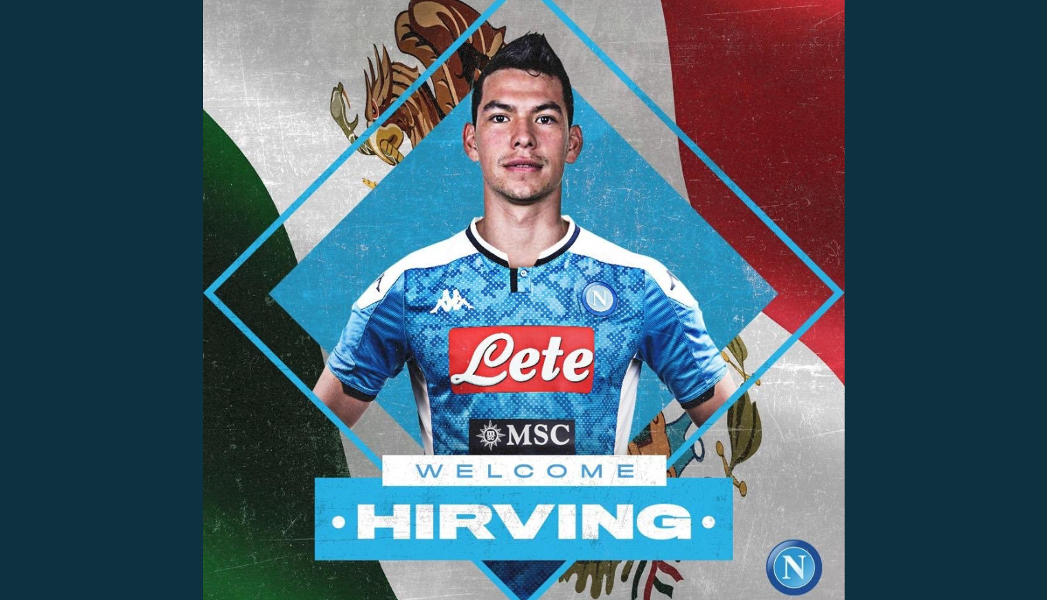 Hirving Lozano becomes Napoli's most expensive signing