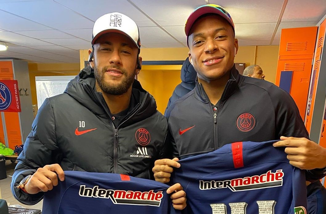 Neymar: Mbappe has the potential the become one of the best players in history