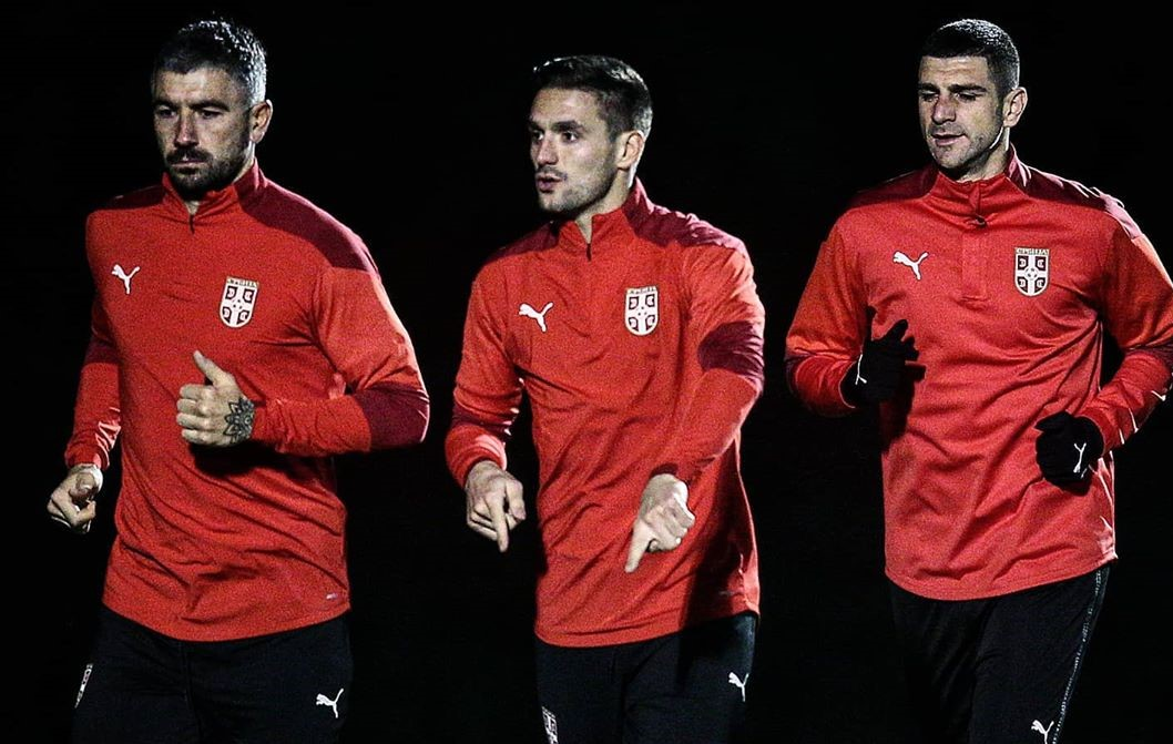 Serbia's squad trying to remind its countrymen and Europe of their talent by booking the fiercest game of the Euros