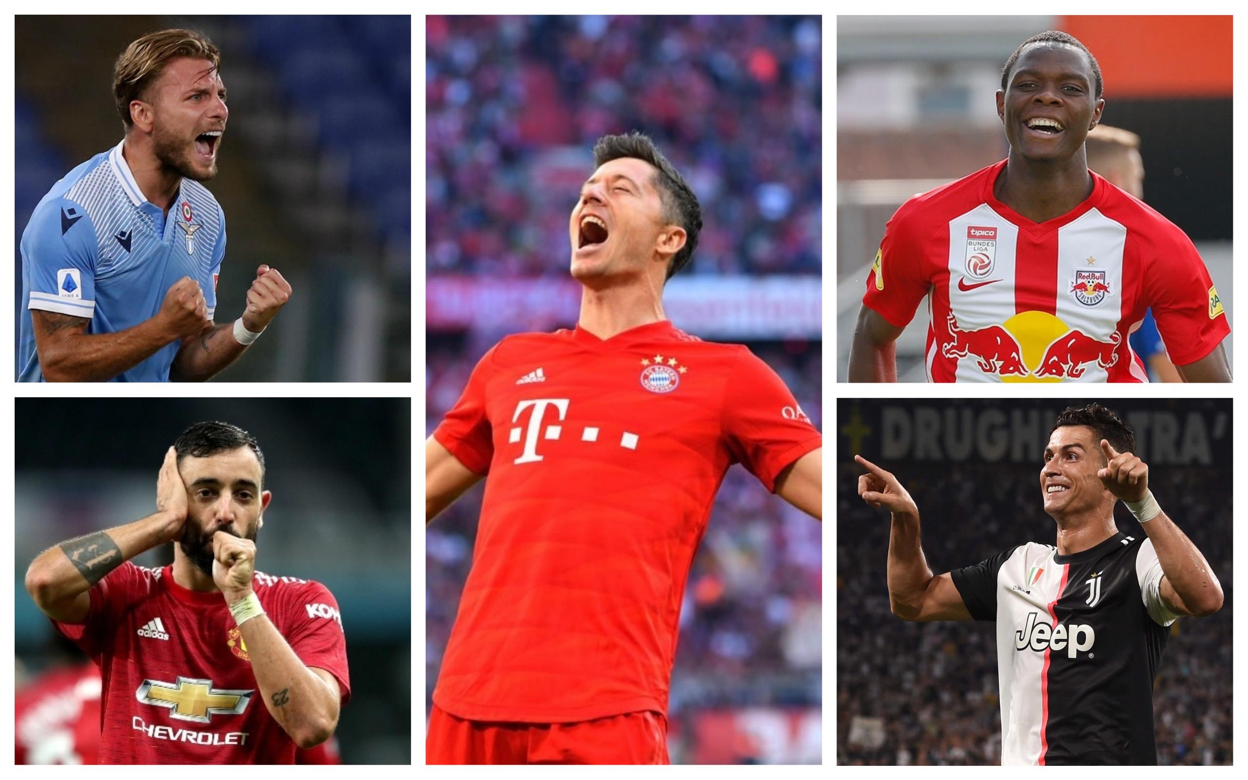 Top goalscorers of the 2019/2020 season