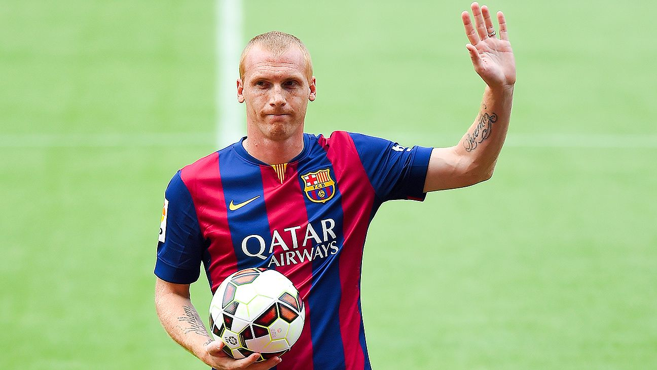 Jeremy Mathieu: I didn't want to go to Barca, I was wondering will I polish the bench there