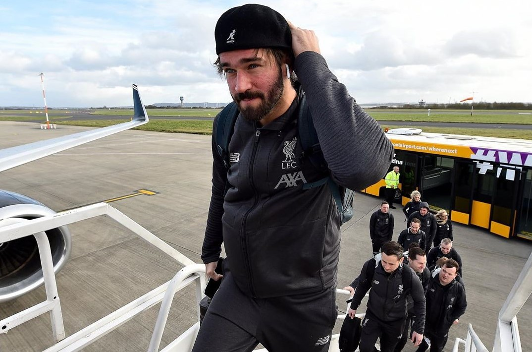 Alisson out from Liverpool's key Champions League clash due to injury