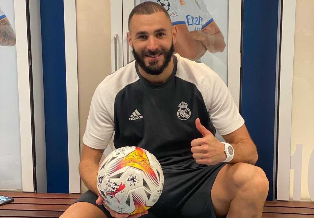 Benzema is in the form of his life with a goal involvement tally after six games best in the 21st century