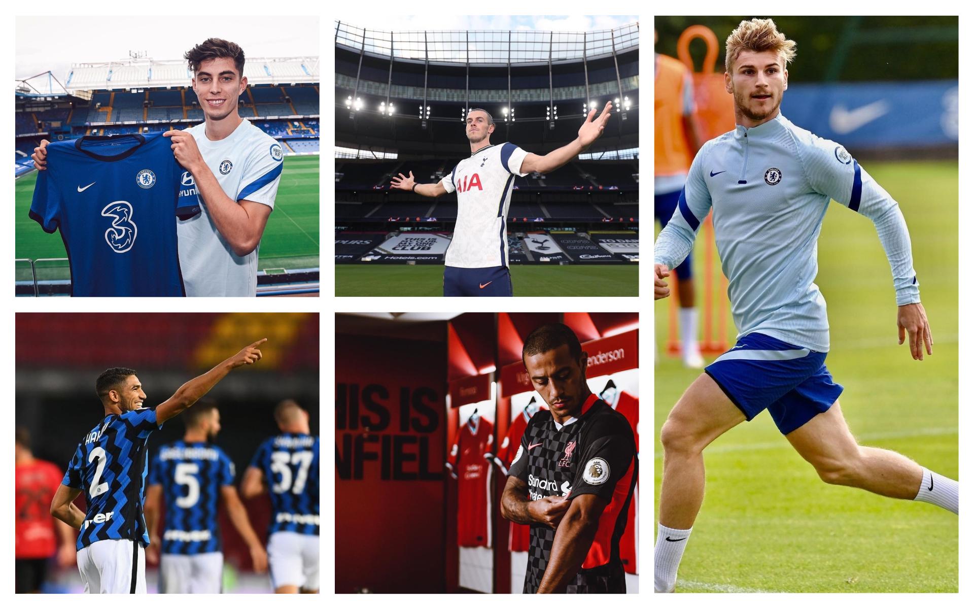 Best transfers of the 2020 summer window