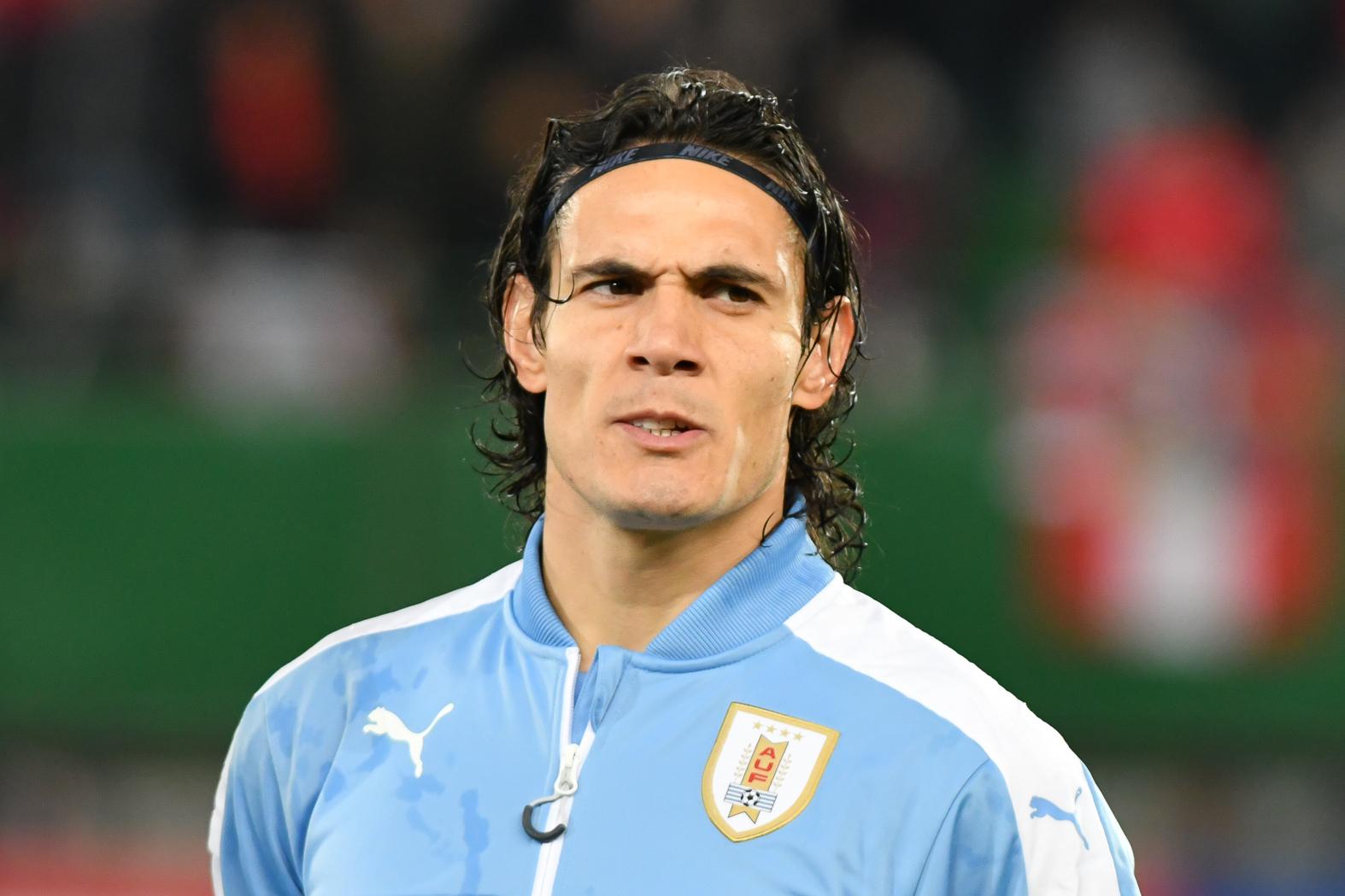 Uruguay top group C following late Cavani winner over Chile