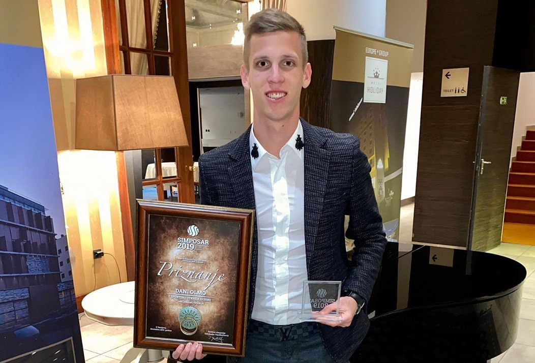 Spanish international Dani Olmo believes his time at Dinamo is over