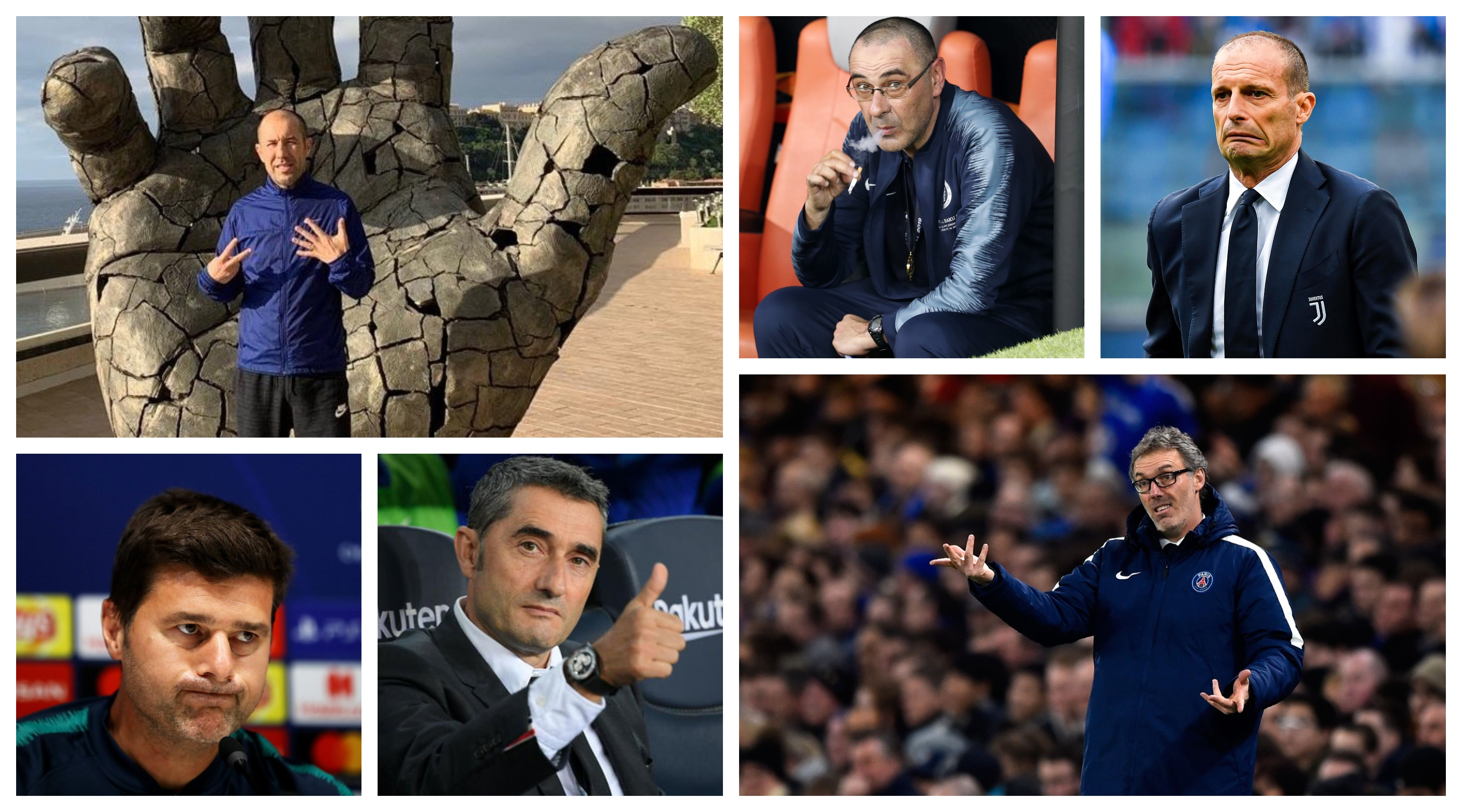 Top football managers without a job in 2020