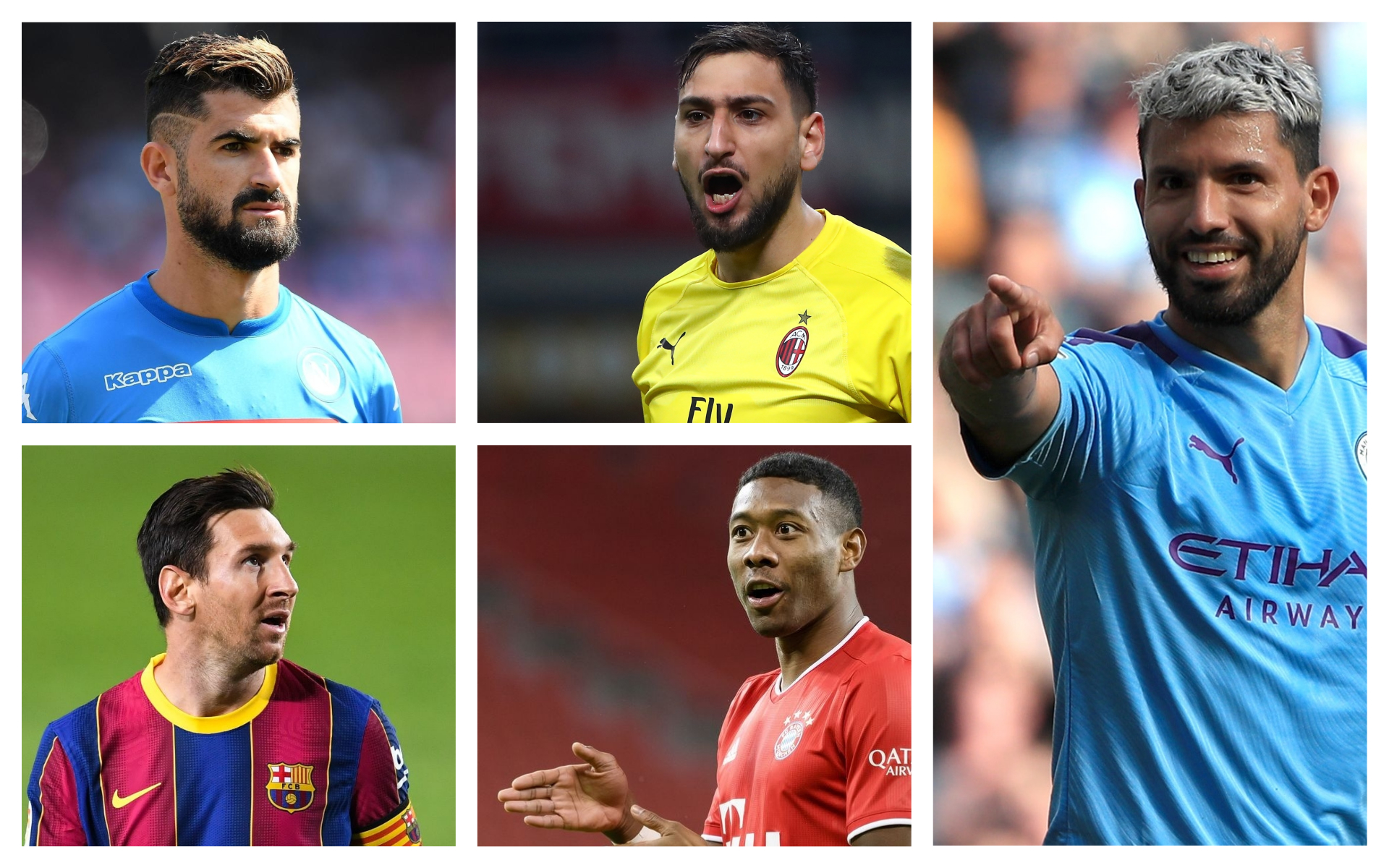 Is this free agents best XI a Champions League winning team?