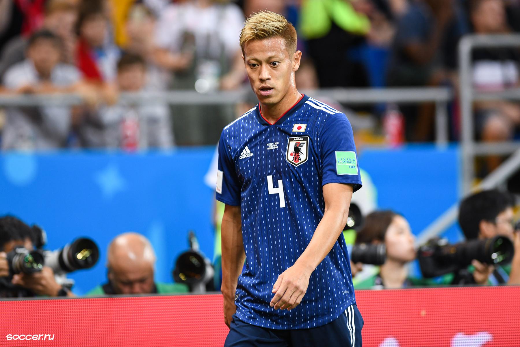 Keisuke Honda debut for Botagogo and set a new record