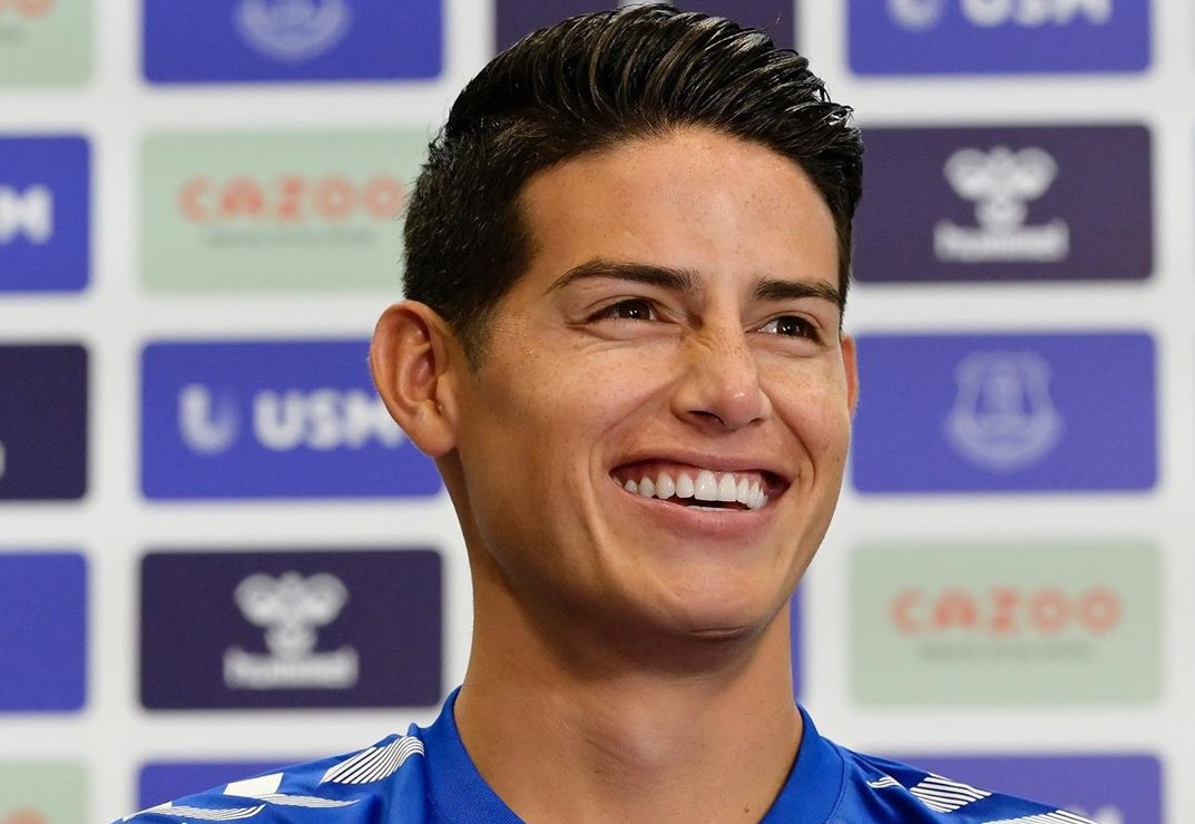 Former club of James Rodriguez reveals he joined Everton for free!