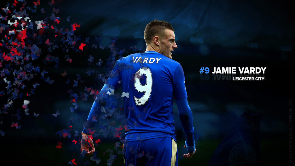 Vardy scored more Premier League goals than Ronaldo and in fewer matches