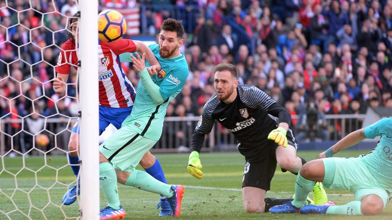 Messi returns praise to Oblak: It's an extra motivation to try score goal on him