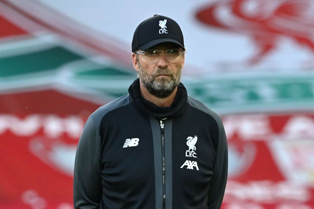 Klopp: We are Liverpool, no one's happy with being 4th with 40 points and level with Everton