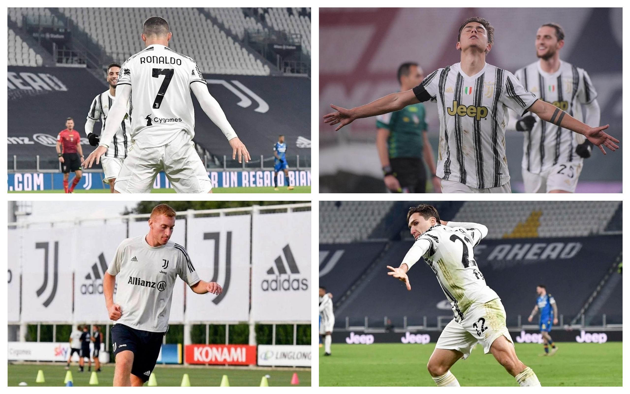 Juve's after-class quartet: Chiesa reveals how he and Kulusevski are learning from Ronaldo and Dybala