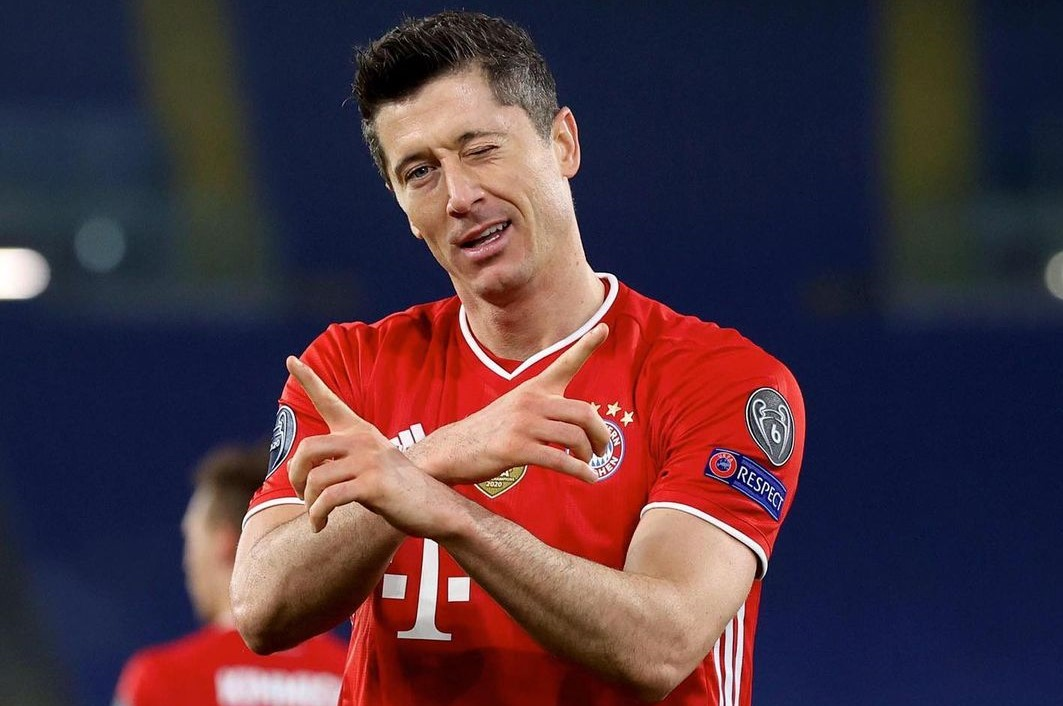 Lewandowski overtakes Real legend as the third-best Champions League scorer