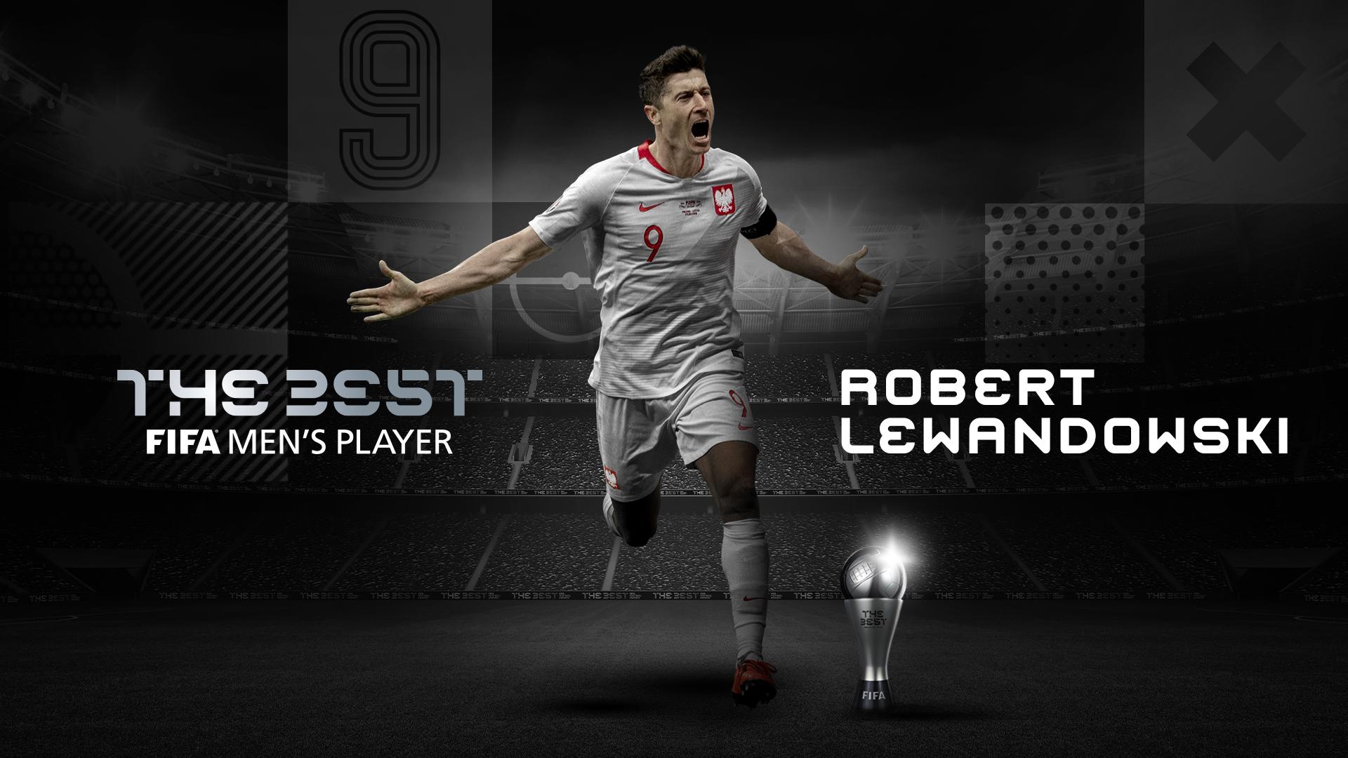 Robert Lewandowski wins FIFA player of the year