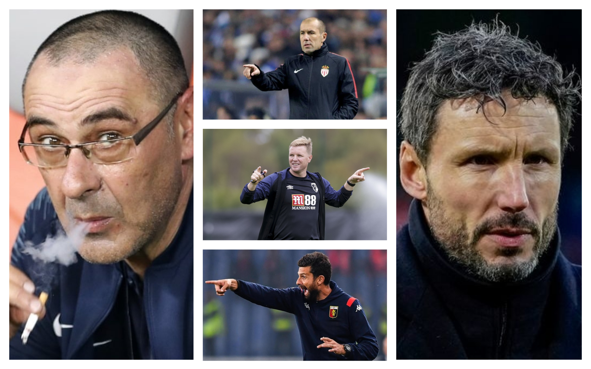 Football managers without a job in 2021