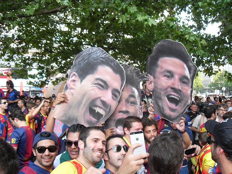 Messi and Suarez are ready for Mallorca