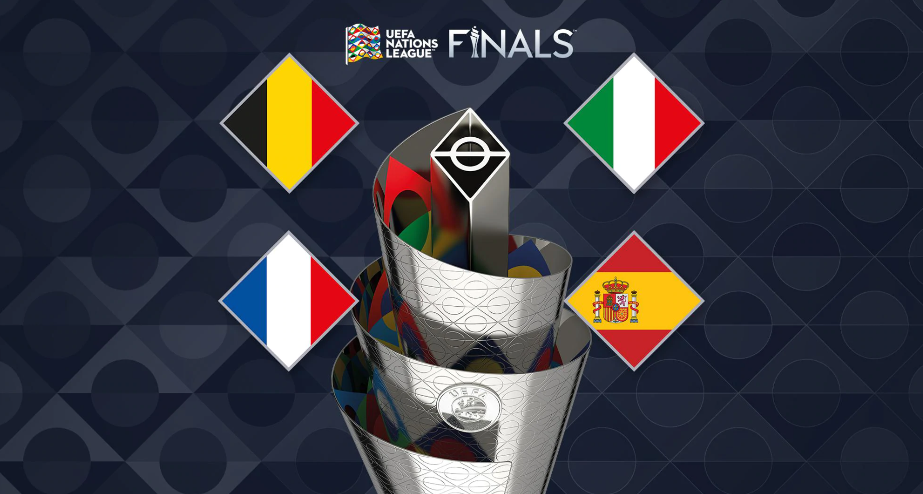 Nations League final four decided with a completely different line up than last tournament