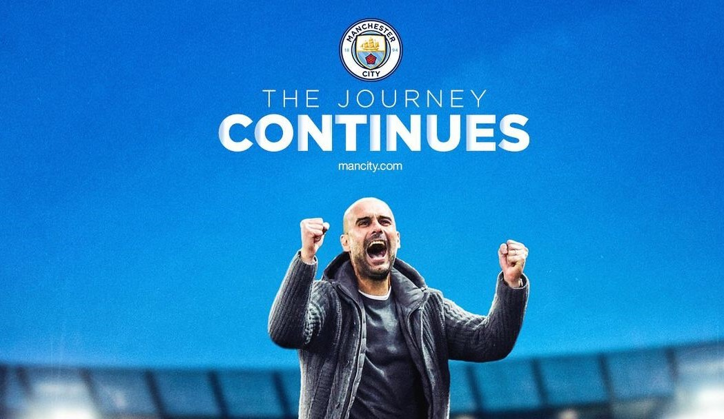 City trying to make Guardiola their own Cruyff: Pep signs an extension