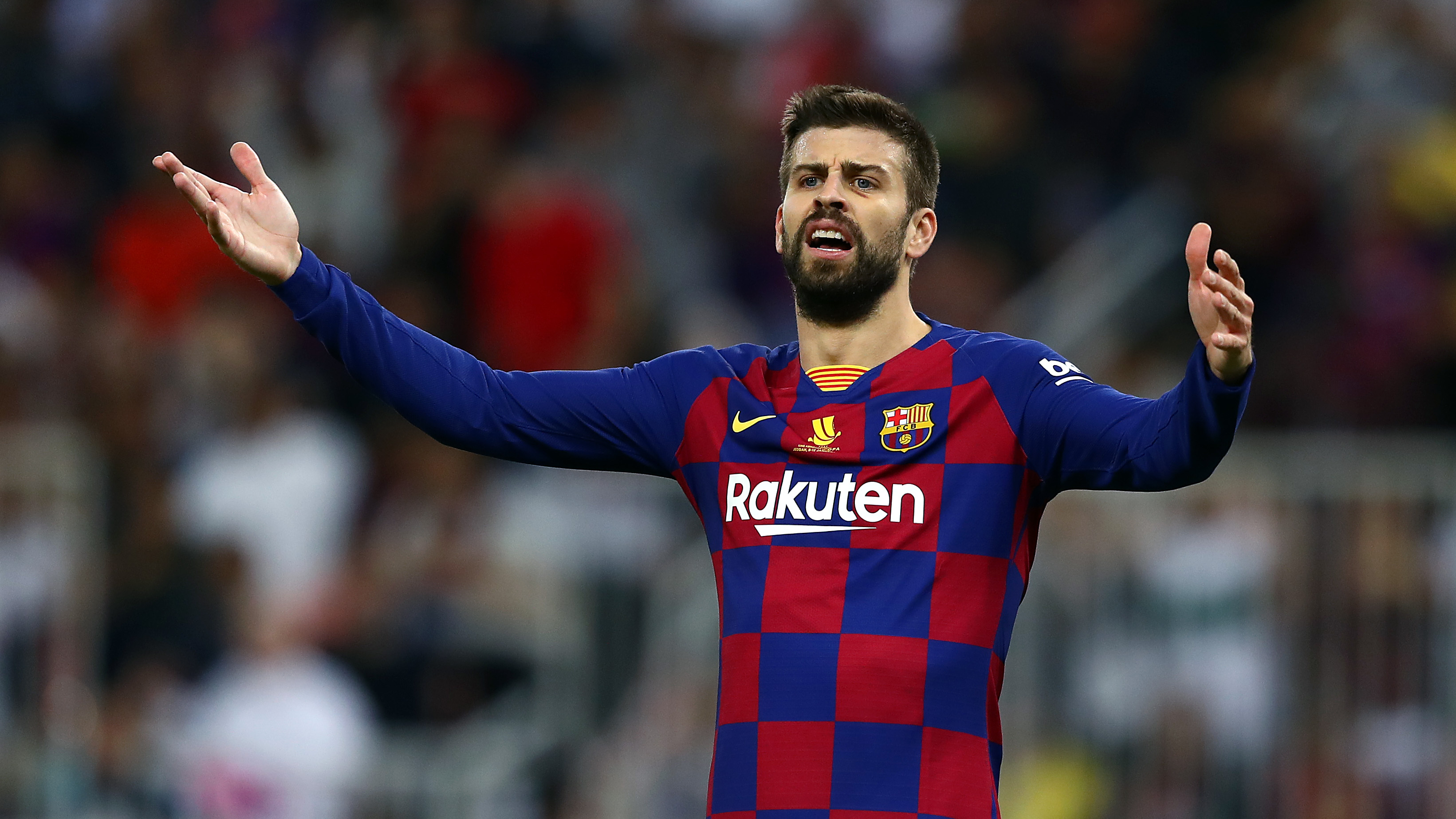 Pique on revealed number of referees supporting Real: How are they not going to whistle in their favour?