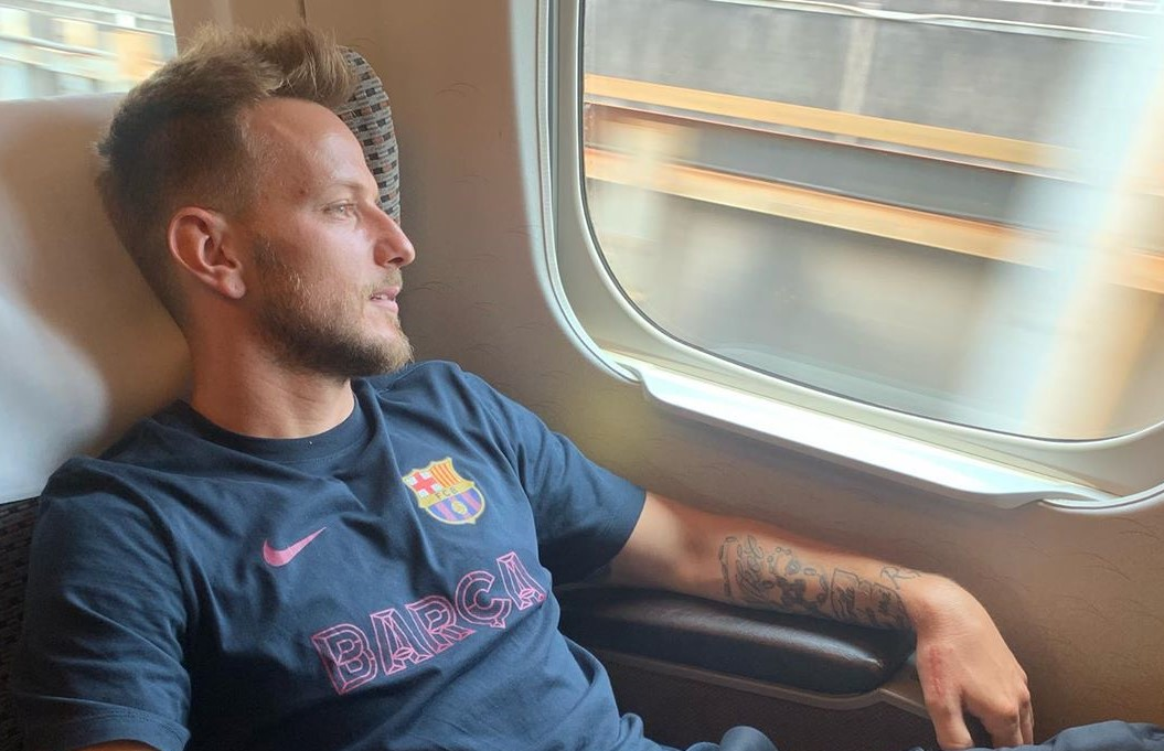 Rakitic: I didn't stay in Barcelona to walk on the beach