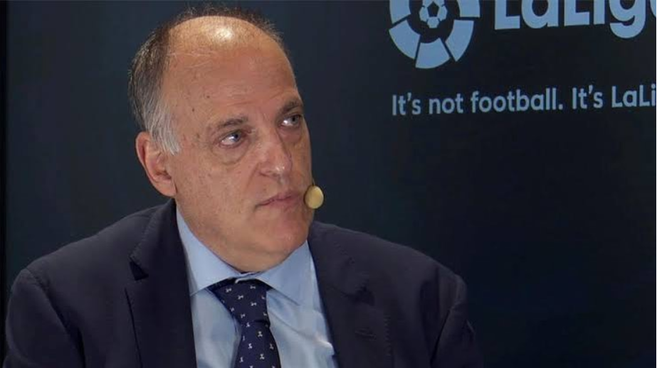 Tebas hits back to Barca: Messi is the best ever, didn't deserve to leave like that