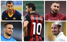 Players top Serie A clubs are at risk of losing as free agents this summer