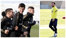 Courtois: We studied Messi like we study a player from Celta or Levante