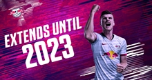 Timo Werner extends his contract with RB Leipzig!