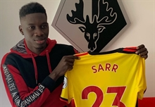 Watford's Sarr reveals he turned down Barca several years ago