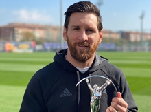 Leo Messi becomes the first player to achieve over 1,000 goals and assists combined