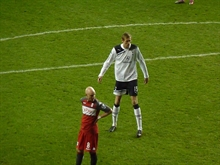 Beloved giant says goodbye: Peter Crouch retires in his style