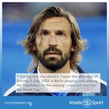Pirlo reveals which current player is most like him