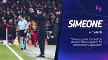 Simeone: I don't think Felix is similar to Cristiano Ronaldo