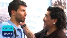 Guardiola reveals how Aguero is dealing with the death of Maradona