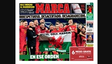 Marca fires at Bale for his celebration: 'Disrespectful. Wrong. Ungrateful. In that order.'