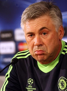 Carlo Ancelotti mad about the state of dressing rooms at Napoli
