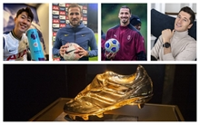 Who are the early frontrunners for the 2020/2021 European Golden Shoe race?