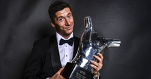 Lewandowski: I'm not at the same table as Ronaldo and Messi, but I can invite them to mine