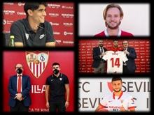 Last season it was 12, this summer Sevilla got its fifth signing