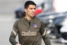 A major hit to the title race: Atletico without the injured Suarez for at least four games!