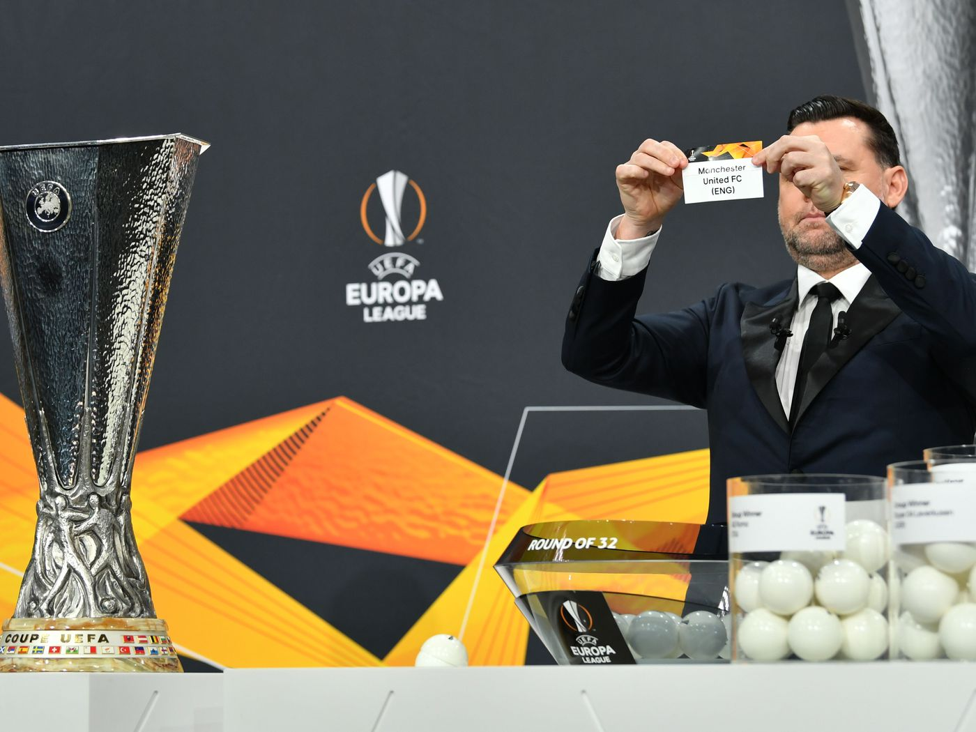 Europa League round of 16 draw pits two continental giants against each other!