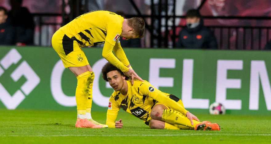 Borussia will try and catch up to Bayern with a limp: Witsel out for months!